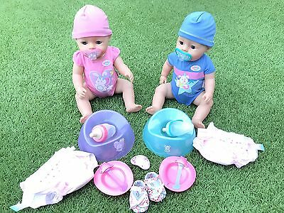 Zapf Creation Baby Born Doll Set And Accessories