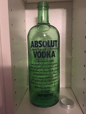 Absolut Vodka GREEN TINTED prototype made at the Hammar Factory