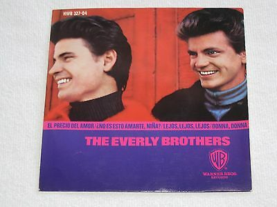 """The Everly Brothers The Price Of Love Rare Spanish Original Issue Ep 7"""""""