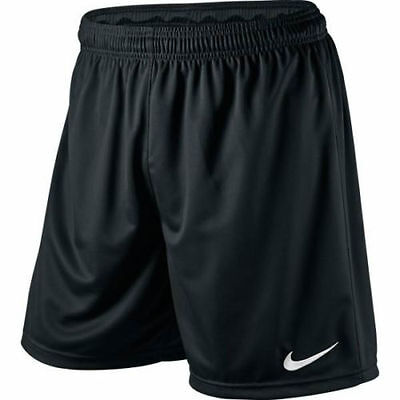 NIKE PARK KNIT SHORTS ADULT BLACK SPORT DRIFIT IN  SIZES  MED  or LARGE