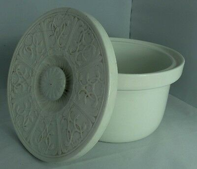 Vintage Commode Pot With Lid