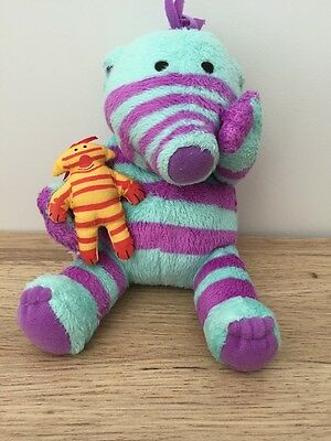 """The Fimbles - Florrie & Little One - 7"""" Soft Toy - Fisher Price - Vgc"""