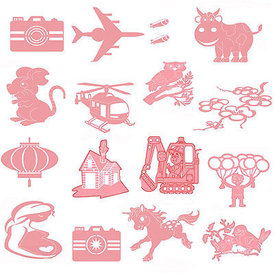 Silver Craft Scrapbooking Dies Cutting Embossing Stencil Metal Wedding DIY Paper