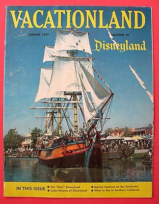 Summer 1959 Disneyland ~ Vacationland Magazine ~ Columbia ~ Frontierland