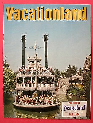 Fall 1966 Disneyland ~ Vacationland Magazine ~ Mark Twain ~ Rivers Of America