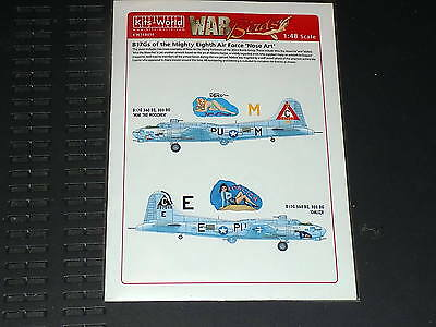 Kits World Decals 148014 1/48 B-17G Fortress Min the Moocher & Idaliza