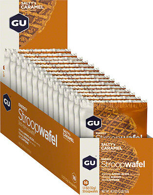 GU Stroopwafel: Salty's Caramel Box of 16