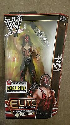 WWE Kane Ringside Exclusive Hardcore Title Elite MOC WWF Mattel figure legends