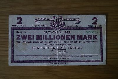 Collection of German Marks from 1922-1923 Various Conditions Lot 1