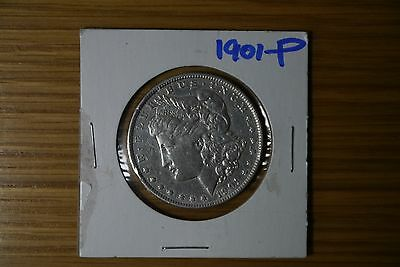 1901-P Silver Morgan Dollar Uncirculated Great Condition RARE DATE **UPDATED