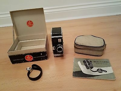 Vintage 1950's Paillard - Bolex C8S Cine Camera with YVAR 1.25 f=12.5mm lens