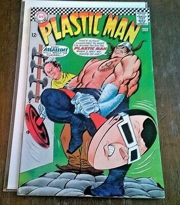 Plastic Man #5 (July 1967 DC Comics) NM -