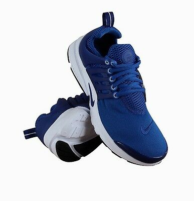 Youth 8-12 Nike Presto (GS) Athletic/running Shoe Game & Deep Royal Blue 833875