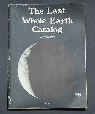 THE LAST WHOLE EARTH CATALOG  Access To Tools -June 1971