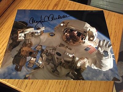 "Clayton Anderson NASA astronaut Signed 8""x10"" Photo Autographed"