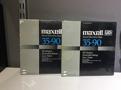 MAXELL UD 35-90 Reel to Reel tape SEALED