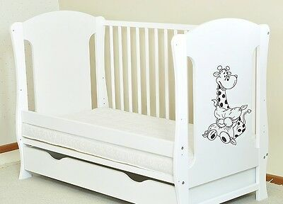 New Baby Cot+Drawer Option Junior Bed  Choose Mattress Quick Delivery 3 Colour