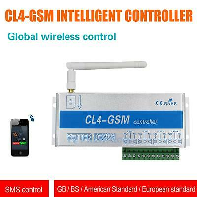 GSM SMS Controller Switch CL4-GSM Sensor Wireless Remote w/ Aluminum Alloy Box