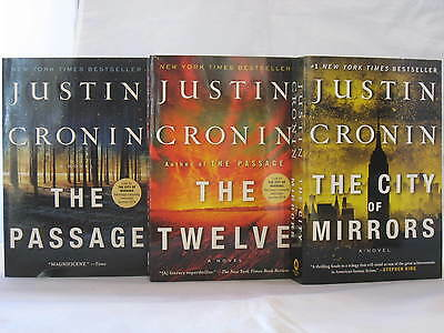 The Passage Trilogy #1-3: Books by Justin Cronin (Complete Series Set) Paperback