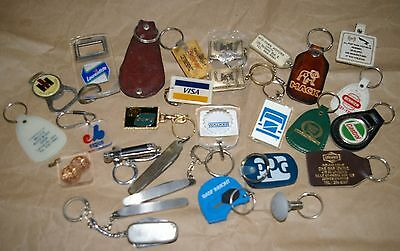 LOT: Key Chains : From Canada & USA
