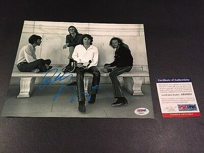 """Robby Kreiger Signed 8x10"""" Photo Autographed The Doors Jim Morrison PSA DNA"""