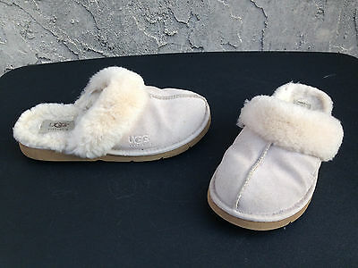 UGG Australia Slippers Womens Tan Suede Slip-On Size 6