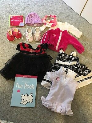 Large Lot of American Girl And Other 18 inch Doll Clothes Outfits & Shoes!