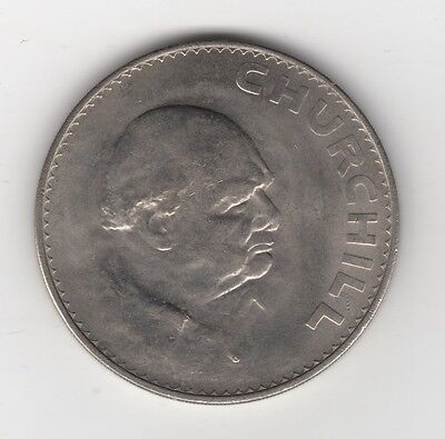 1965 Great Britain (UK) Crown Churchill Coin..England Lot J