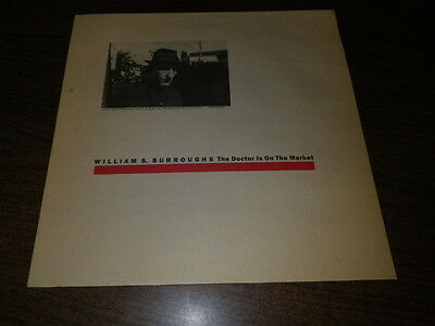 "William S. Burroughs ""The Doctor Is On The Market"" Vinyl LP Record Album"