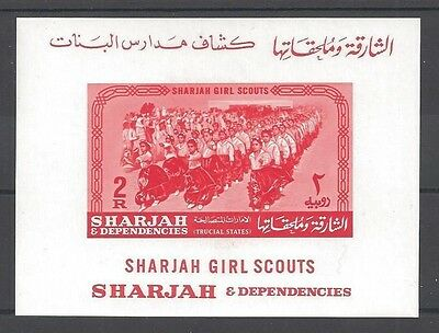 1964 Sharjah Trucial State Girl Scouts SS