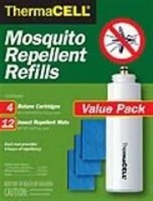 ThermaCell Mosquito Repellent Refill Value Pack, RB-4, New