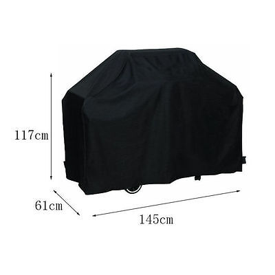 "BBQ Grill Cover 58"" Gas Barbecue Heavy Duty Waterproof Outdoor Weber DA"