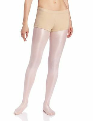 New Capezio Womens Low Rise Boy Cut Short Nude Size Small