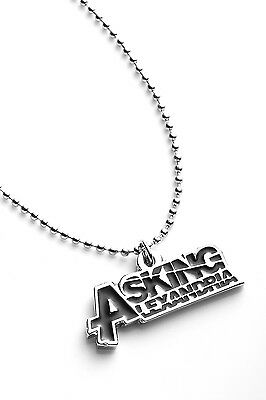 Asking Alexandria Metal Pendant with Chain Ball Necklace Black