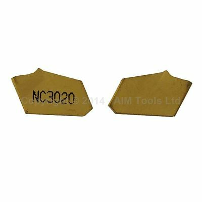 Lathe Turning Tool Replacement Inserts Set of 2 Pieces [Size:SP400]