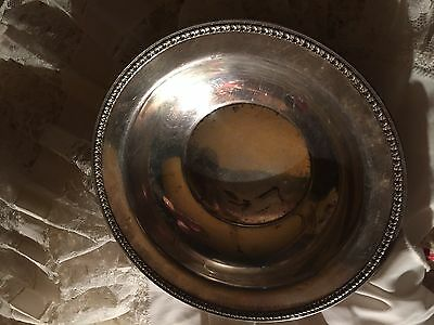 Antique Reed And Barton Sterling Silver Bowl 7 3/4""