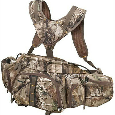 Outdoor Multifunctional Camouflage Backpack Waist Bag For Fishing Hiking Hunting