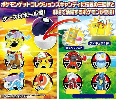 Pre Pokemon SM Sun Moon Movie Get Collections 10 figure Complete Set Takara Tomy