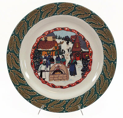 Homer Laughlin Turano Bakery Holiday Collection Plate Platter AAAC