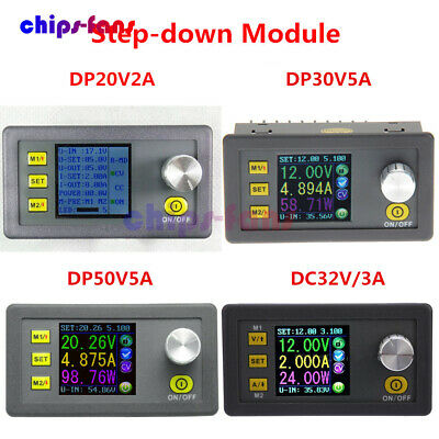 DPS3003 DP20V2A 30V5A 50V5A DC32V/3A Programmable Step-down Power Supply Module