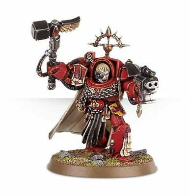 Space Marine Blood Angels Terminator CAPTAIN KARLAEN 40K - New on Sprue