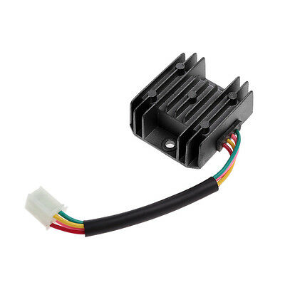 ATV GY6 50 150cc Scooter 4 Wires Voltage Regulator Rectifier Motorcycle Boat