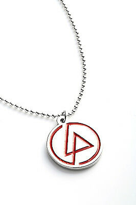 Linkin Park Metal Pendant with Chain Ball Necklace One More Light Red