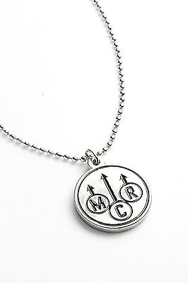 My Chemical Romance Metal Pendant with Chain Ball Necklace Danger Days Black