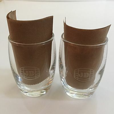 *New* JACK DANIELS Barrel Shot Glasses Old No.7 Brand Whiskey JD Lot