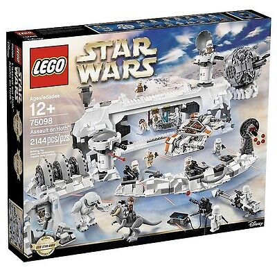 Lego - Star Wars Assault On Hoth 75098 - Brand New In Box