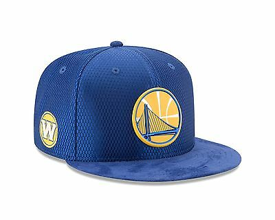 Golden State Warriors New Era 2017 NBA Draft Official On Court 9FIFTY  Snapback ee7d3f8ef399