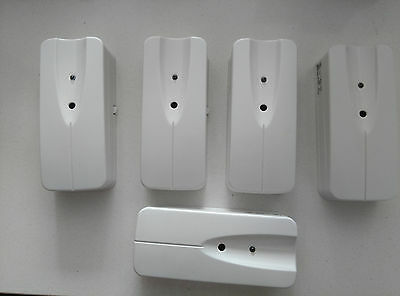 Lot of 5x New WLS912L-433 NA 433MHz Wireless Glassbreak Detector with Battery