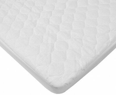 American Baby Company Waterproof Quilted Cotton Bassinet Size Fitted Mattress