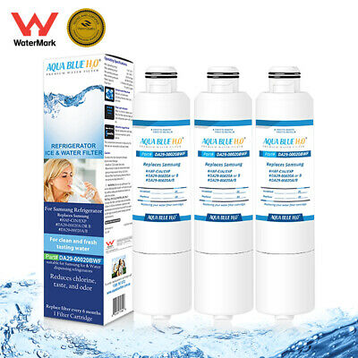 3 x Samsung DA29-00020B Premium Compatible Ice & Water Fridge Filter SRF680CDLS